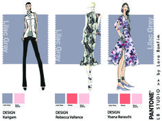 Lilac Gray, pantone, color, fashion, trendy, 2016, moda, tendência, croqui, sketch, beleza, design, cor, criatividade, creativity, illustration