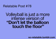 Haha - volleyball