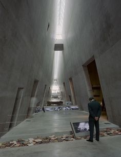 Gallery of Flashback: Yad Vashem Holocaust Museum / Safdie Architects - 1