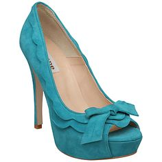 Turquoise Heels - I Wang these!!