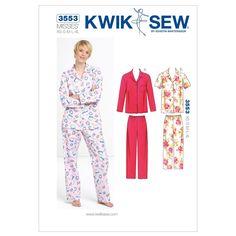 Mccall Pattern K3553 Xs-S-M-L-X-Kwik Sew Pattern