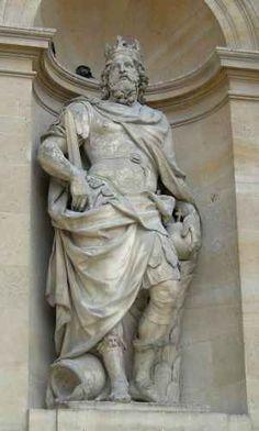 Antoine Coysevox : Saint Charlemagne, hôtel des Invalides