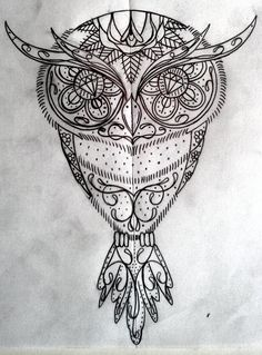IMAGES OF SUGAR SKULL OWL - Google Search