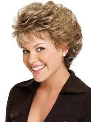 short curly hairstyles for plus size - Google Search