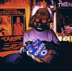 Daft Punk for The Face, 2001 Daft Punk, Thomas Bangalter, Thunder Strike, Roman Sculpture, Edm Music, Kid Cudi, Music Images, Spotify Playlist, Cultura Pop