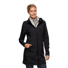 Women's Tek Gear® Hooded Soft Shell Jacket  in need of a nice rain coat.