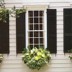 Add Charm with Window Boxes - Southern Living