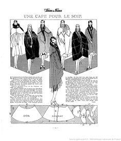 Cape (La Femme de France 02/12/1928)