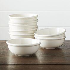 Set of 8 Dinette Cereal Bowls | Crate and Barrel