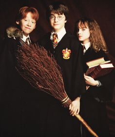 the three. harry poter, ron and me