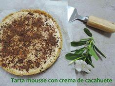 Una tarta que te va a sorprender: es de mousse de crema de cacahuete