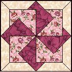 Quilts To Be Stitched - Eight patch quilt patterns - Twisting Star