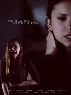 Elena Gilbert is so strong ! I would not know how to handle someone's death especially someone who you love!