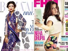 May has just begun, and that means it's time to check out the latest magazine covers. The glossies this month have a fine combination of prominent Bollywood celebrities and runway models gracing the covers. So as the weekend begins, let's take a break from the routine and check out this these good-lookin' magazine covers.Don't Miss! Before and After: Airbrushed Celebrity Photos