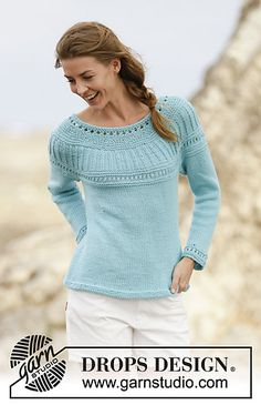 Ravelry: 161-9 Athena Jumper pattern by DROPS design