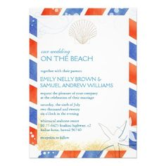 See MoreOn the Beach Airmail Oceanfront Wedding InvitationThis site is will advise you where to buy