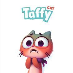 #taffy #cat #dmnart #stickers #imessage