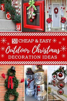 Outdoor Christmas Decorations Images.Pinterest