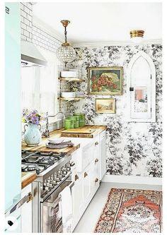 Home Decor Kitchen, Diy Kitchen, Kitchen Furniture, Home Kitchens, Kitchen Ideas, Slate Kitchen, Awesome Kitchen, New Kitchen Cabinets, Kitchen Countertops