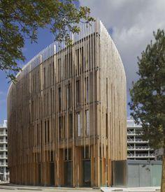 bâtiment B à Nantes