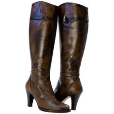 Miriam Knee-high Boot Brown from PaoloShoes.com