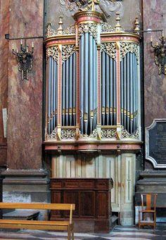 Toulouse - Notre-Dame la Daurade - Choir Organ (Eugène Puget (1881) Jean Daldosso (1993))