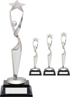 Drama in Silver sizes) - This beautiful and elegant trophy is a perfect award for any star. Silver figure on blue base. Available in 3 sizes: small medium and large Perpetual Trophy, Dance Awards, Gymnastics, Drama, Nyc, Silver, Beautiful, Fitness, Money