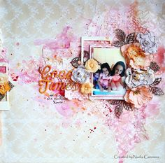 NAdia cannizzo, mixed media layout