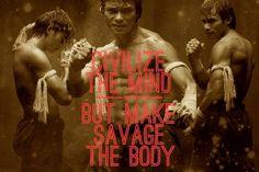 Ong Bak: Muay Thai Warrior by dark-dreams- on DeviantArt Martial Arts Quotes, Martial Arts Weapons, Tony Jaa, Fighting Quotes, Muay Thai Kicks, Muay Thai Training, Training Motivation, Martial Artist, Motivational Pictures