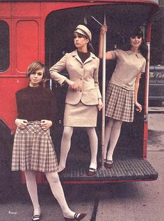 60's Fashion, spent my bean walking money on skirts like this...wore them the first day of school and it was toooo hot to wear them in August:)