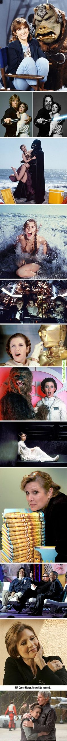 Funny Pictures Rip Carrie Fisher. You Will Be Missed...