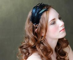 Feather Fascinator Headband