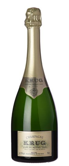 "2002 Krug ""Clos du Mesnil"" Brut Blanc de Blancs Champagne"