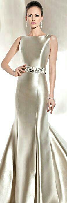 Pretty Silver White Dress