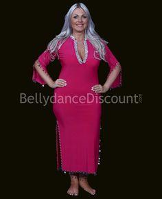 fd8e21314c49 Fuchsia oriental dancing Baladi/Saïdi dress Bellydance, Dance Dresses,  Oriental, Dancing,