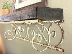 embellishments: Project Post 9: Old Porch Post Ledge