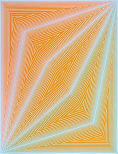 Richard Anuszkiewicz, Inward Eye #4, 1970, Serigraph