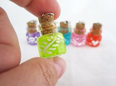 Choose Your Potion Bottle Necklace by egyptianruin on Etsy, $13.00