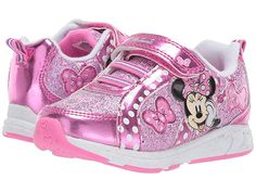 Josmo Kids Minnie Metallic Sneaker (Toddler/Little Kid) Girl's Shoes Pink Toddler Shoes, Kid Shoes, Girls Shoes, Toddler Girls, My Little Pony Bedding, Disney Outfits, Disney Clothes, Barbie Doll Accessories, Metallic Sneakers
