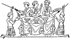The Historical Cookery Page--VERY interesting collection of historically accurate recipes of food by era