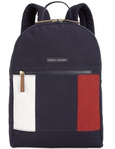 8e65cfea9dfd4 Tommy Hilfiger Th Flag Small Backpack - Blue