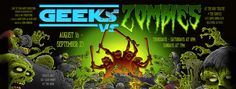September 4, 2012: 'Geeks vs. Zombies' who hate fast food in today'z Daily Deadz