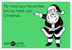 Haha soo me!!! Listening to Christmas songs in November!!! Hahaha can't beat that!!