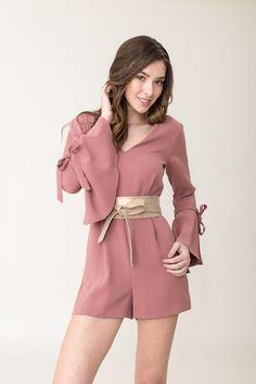 Wrap Belt - Rose Shimmer
