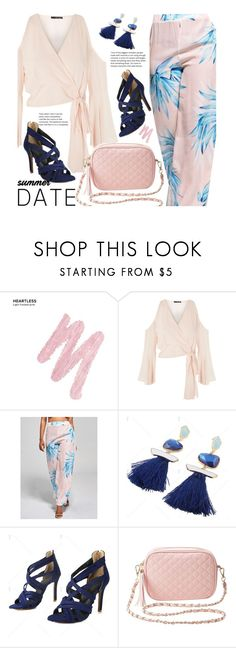 """""""Smokin' Hot: Summer Date Night"""" by beebeely-look ❤ liked on Polyvore featuring Urban Decay, TFNC, Charlotte Russe, chic, twinkledeals, summerdatenight and MyPowerLook"""