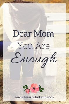 Motherhood can be hard. Being a wife can be hard. You probably don't hear it often but you are enough. Motherhood struggles, surviving motherhood, motherhood strength, motherhood stress, motherhood tired, parenting is hard, parenting children, self-care routine, self-care tips, self-care for moms, printables