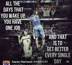 The assassin Aaron Harrison getting ready for a new season! #rebuildingmylife