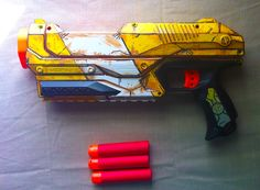 Nerf Magnus paint job