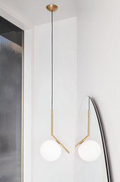 Satsa på en vacker lampa i hallen - det är det första din gäst ser när hen kommer innanför dörren | Skanska Nya Hem