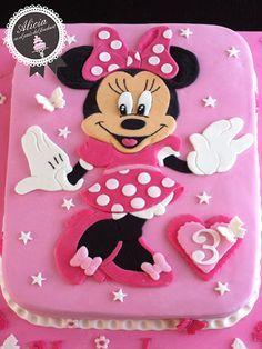 Резултат с изображение за pasteles de fondant de minnie mouse